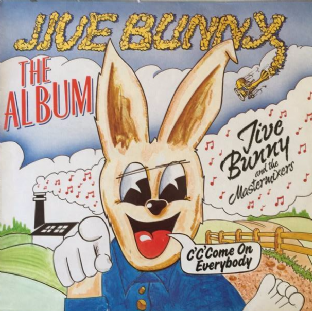 Jive Bunny And The Mastermixers ‎- Jive Bunny: The Album (LP) (G+/VG)